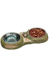 Golf Gifts and Gallery Golf Themed Cat/Dog Food Bowl