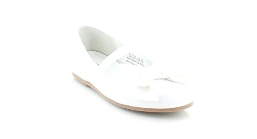 Nina Danica-T Ballet Flat ,White,11 M US Little Kid