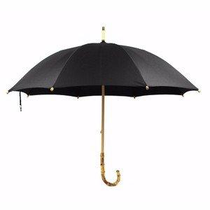Zhudj: Paraguas de estilo inglés antiguo, ratán, bambú. Con mango largo,