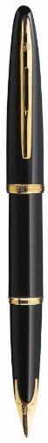 Waterman Carene Black Fine Point Fountain Pen (S0700300)