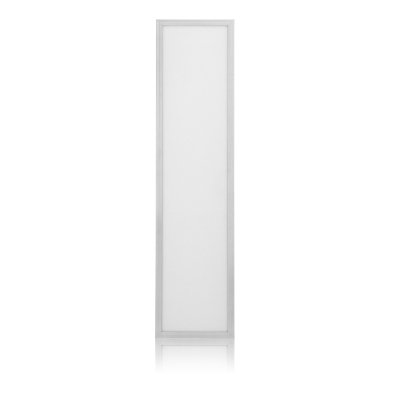 Enpower 7G DIMMABLE 40 Watt 1'x4' Edge Lit Cool White Light (5000k) Scratch Proof - White Frame LED Panel Light for Office/kitchen/bathroom Overhead - Input Voltage 100v-240v - UL and DLC Listed