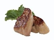 Foie Gras, Fresh, Sliced, 10 Individually Packaged, 2 oz Per Slice