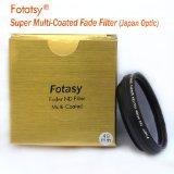 Fotasy 49mm Adjustable Fader ND Filter Neutral Density (ND2 - ND400) Super Slim