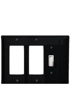 EGGS-87 Plain Double GFI & Switch Electric Cover