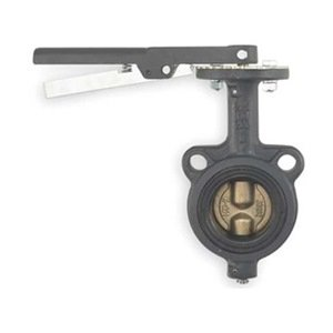 Butterfly Valve, Wafer, 3 In, Viton Liner from Milwaukee Valve