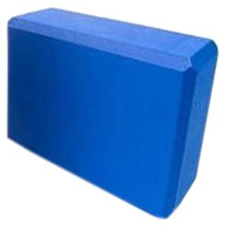 Sivan Health and Fitness Yoga Foam Block (Blue) by Sivan Health and Fitness