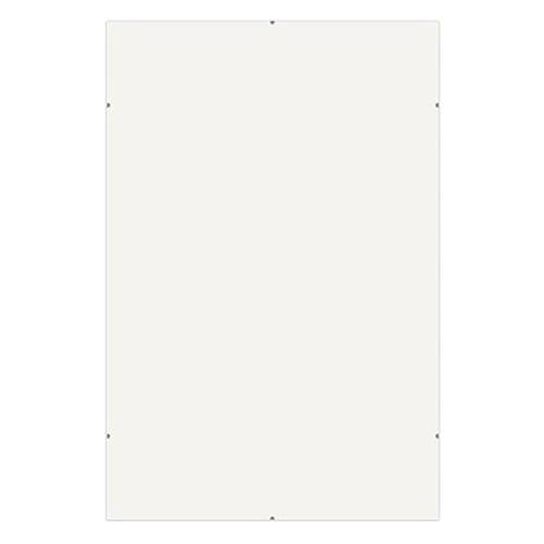 Framatic Frameless Glass Clip Picture Frame for a 20x24