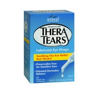 Theratears Theratears Lubricant Eye Drops Single Use Containers, 32 X 0.2 oz (Pack of 3)
