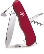 Victorinox Swiss Army Picnicker Pocket Knife (Red), Outdoor Stuffs