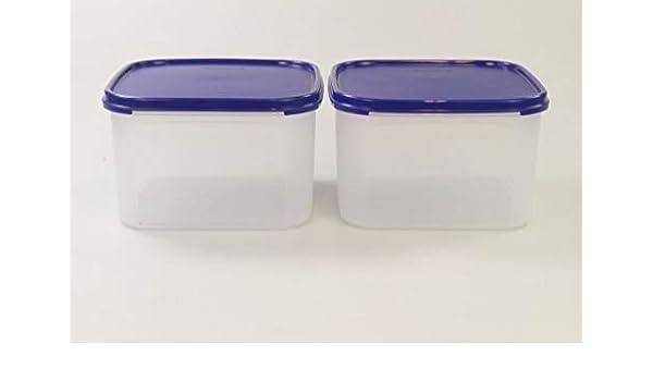 Tupperware - Recipiente para Alimentos (2,6 L, Cuadrado, Modular ...