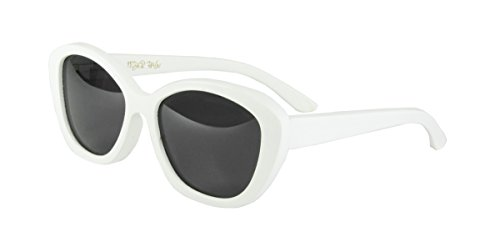 Tiger Paw - Women's Bamboo Sunglasses, Polarized (White, - Fastest World The White In Woman The