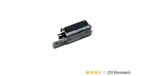 Package of Six Sharp XE-A106 XEA106 Cash Register Ink Roller Black