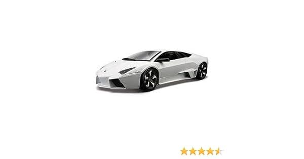 Amazon.com: Lamborghini Reventon Diecast Model White 1/18: Toys U0026 Games