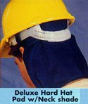 Occunomix 969-018 Mira Cool Hard Hat Pad with Shade, Navy