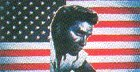 5FT X 3FT ELVIS USA FLAG by Top Brand by NULL