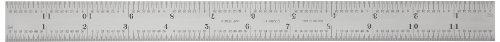 Starrett CB12-4R Blade for Combination Squares, Satin Chrome, 12