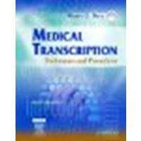 Medical Transcription: Techniques and Procedures, 6e by Diehl BVE CMA-A CMT AHDI-F, Marcy O. [Saunders, 2007] (Paperback) 6th Edition [Paperback]