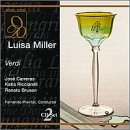 Verdi - Luisa Miller / Carreras, Ricciarelli, - Carrera Shop Online