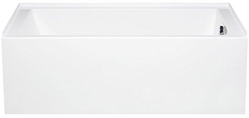 Americh TO6030TL-WH Turo 6030 Left Handed Skirted Soaker Tub (Soaker Skirted)