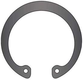 Spring Steel Pkg of 6 USA Stamped 120mm Internal Housing Ring DIN 472 DHO-120