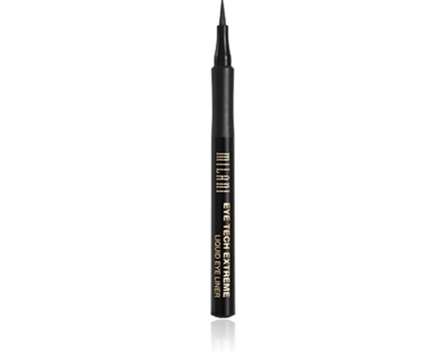 Milani Eye Tech Extreme Liquid Eye Liner, Blackest Black .033 (Liquid Eye)