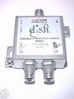 - Dish Network Model SW21 Multi-Dish Switch