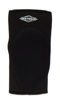 Matman Neoprene Air Extra Protection Wrestling Knee Pad - Black, Large