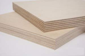 3/4'' (18MM)  30'' x 48'' Baltic Birch Plywood b/bb Grade one Clear face. (Box of 1) by The kitchen zone