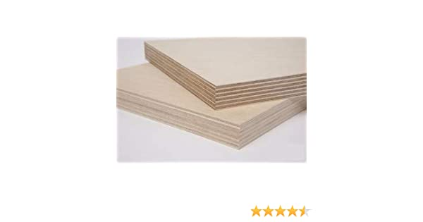 Single Piece of Baltic Birch Plywood 1//4 Thick x 24 x 30 by WOODNSHOP
