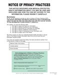 ACS - HIPAA Notice of Privacy Practices HIPAA Notice of Privacy Practices Format A HIP120-WL