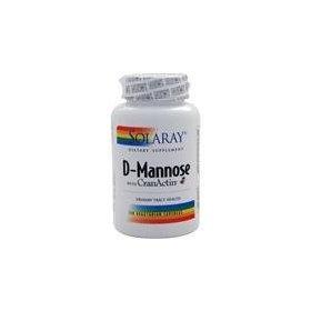Solaray D-Mannose avec CranActin - 120 Capsules