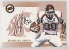 Jermaine Green (Football Card) 2004 Press Pass - Autographs - Bronze #JEGR