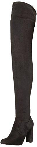 Steve Madden Women's Ezra Fashion Boot, Black, 6 M (Steve Madden Knee High Boots)