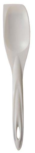 iSi Basics Silicone Spoon Spatula, White (Isi Silicone Spatula)