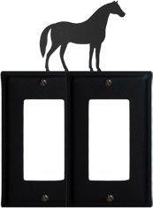 8 Inch Horse Double Gfi Cover