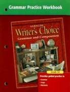 Writers Choice Grammar Practice Workbook Grade 10