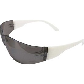 ERB153; 17944 Lucy Fashionable & Frameless Ladies Eyewear, White Frame, Smoke Lens - Pkg Qty 12, (Sold in packages of 12)