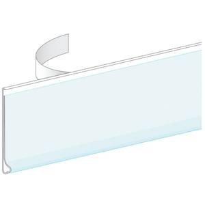 Label Cover Holder Plastic Clear (Economy Shelf Label Holder, 48 x 2)