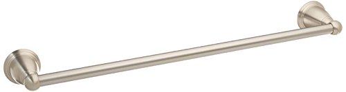 Moen YB2218BN Brantford 18-Inch Towel Bar, Brushed Nickel (18 Towel Bar Nickel)