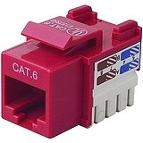 Belkin CAT6 Channel CERT.Keystone Jack (R6D026-AB6-RED)