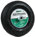 Arnold Contractor Wheelbarrow Replacement Wheel 4.00'' X 6'' Pneumatic 14'' Dia