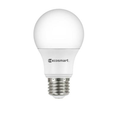 40W Equivalent Daylight A19 Energy Star + Dimmable LED Light Bulb (4-Pack)