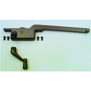 Prime-Line Products 17390-RB Casement Operator, 9-Inch Square Type, Left Hand, Bronze