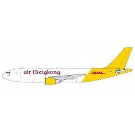 JC Wings Air Hongkong DHL a300–600F 1: 200Diecast Aircraftモデルパーツ# lh2ahk068