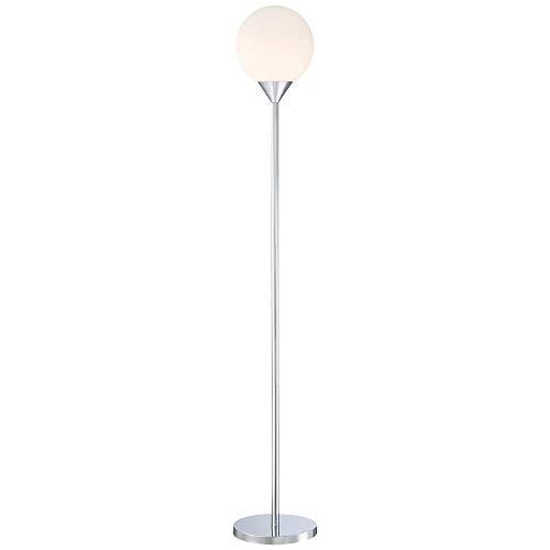George Kovacs Chrome Floor Lamp - George Kovacs P1831-3-077 One Light Floor Lamp