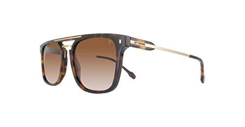 GianFranco Ferre Unisex Oval Sunglasses Polarized Lens Tortoise Frame ()