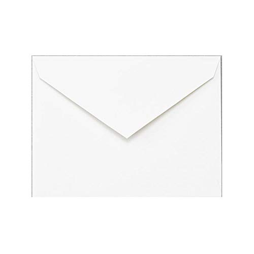 Pack of 20 Crane & Co. Pearl White Embassy Envelopes, 5 3/4