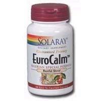 Solaray - Eurocalm Valerian formule spéciale, 60 capsules