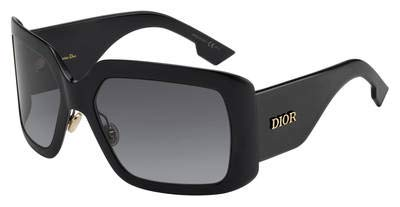 Dior DIOR SO LIGHT 2 BLACK/GREY SHADED 61/20/130 women Sunglasses (Schwarz Dior)