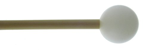 Mike Balter 91B Marching Medium Hard Keyboard Mallets with Birch Handles and 1-1/8-Inch Poly Ball by Mike Balter